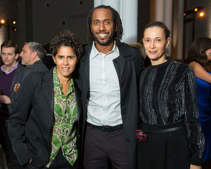 Performa 17 opening night gala   julie mehretu rashid johnson jeanne greenberg rohatyn